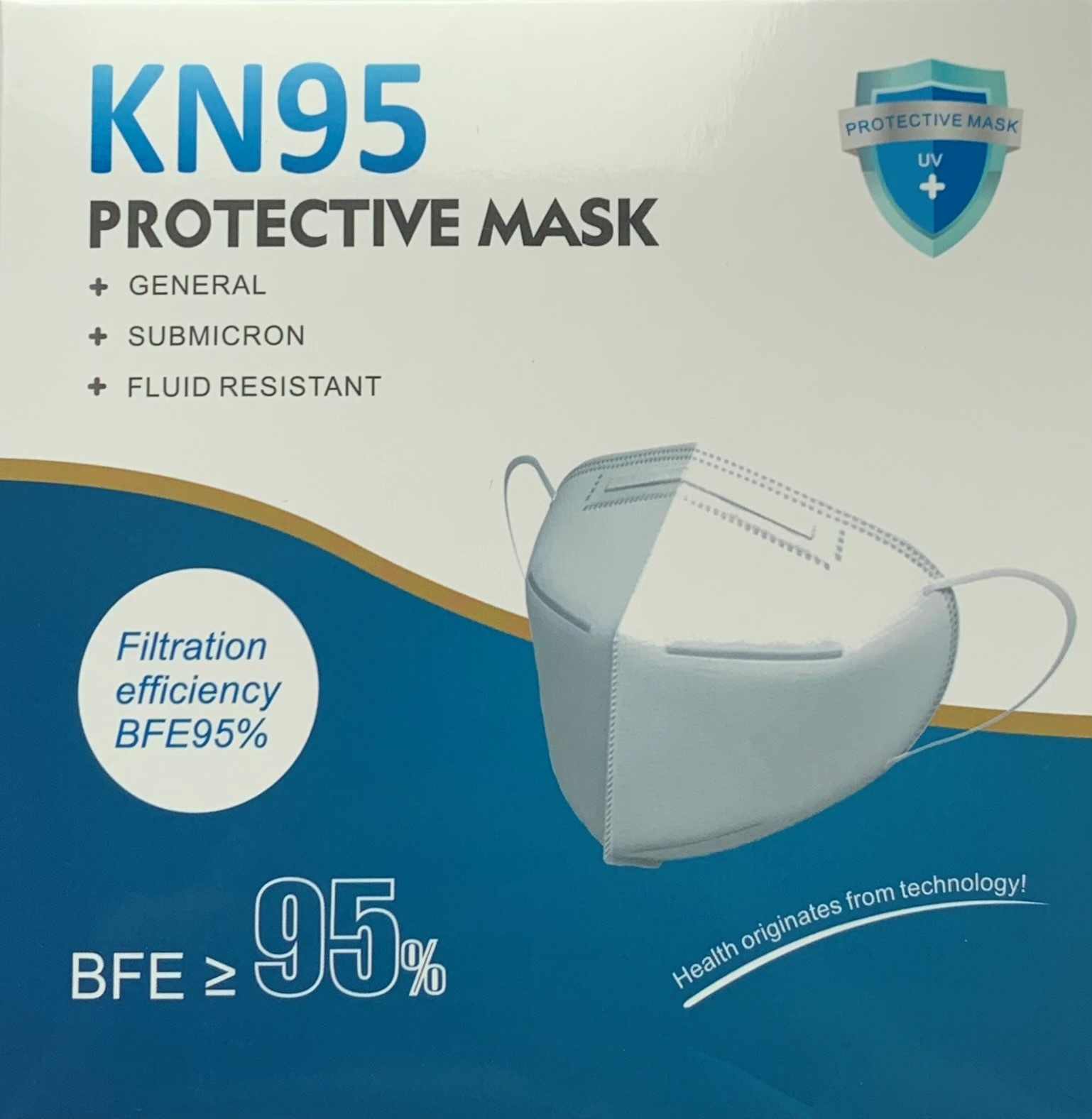 KN95 Face Mask  – Box of 10-0