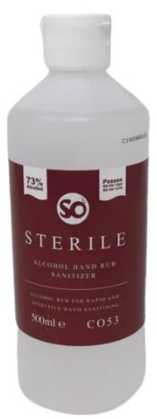 Selden Sterile Alcohol Hand Sanitiser - 500ml-0