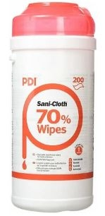 Sani-Cloth 70% Alcohol Surface wipes - 200 Wipes -0